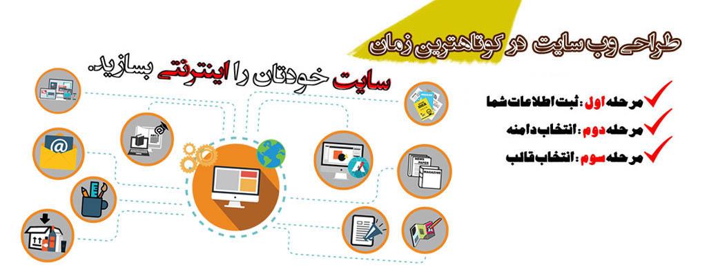 پکیج طراحی سایت
